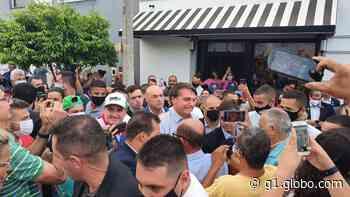 Após evento em Campinas, Bolsonaro vai de helicóptero a Elias Fausto lanchar em padaria - G1