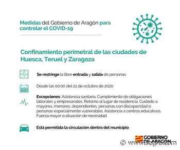 Confinan perimetralmente Zaragoza, Huesca y Teruel - SEGRE.com
