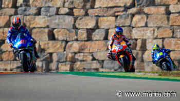 Horarios y dónde ver el Gran Premio de Teruel de MotoGP 2020, Moto2 y Moto3 - MARCA.com