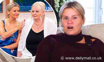 Kerry Katona recalls the horrifying moment her mother's ex threatened to 'chop her FEET off'