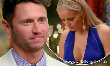 Bachelorette hunk Damien Stone is dumped from the show