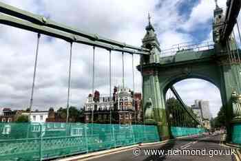 Council to host first public meeting with Hammersmith Bridge Taskforce