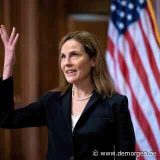 Democraten boycotten stemming: Amy Coney Barrett unaniem verkozen voor Hooggerechtshof