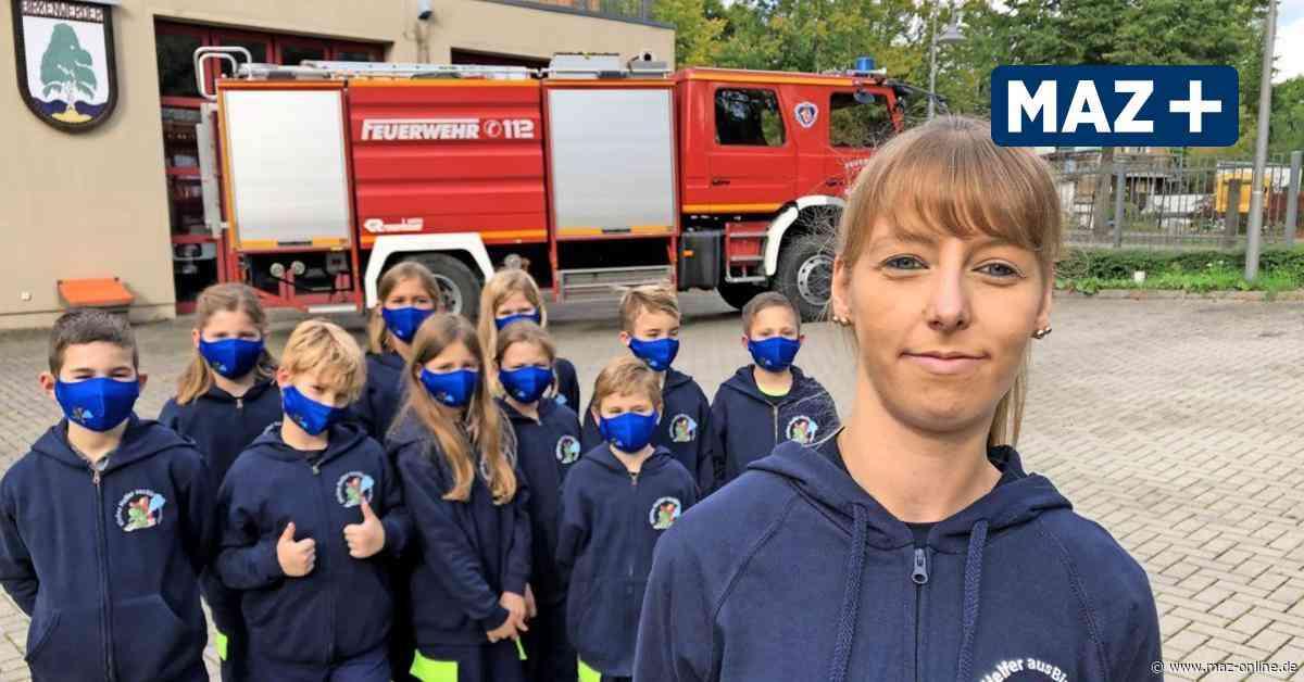 Dienst für den Feuerwehrnachwuchs in Birkenwerder - Märkische Allgemeine Zeitung