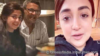 Monali Thakur gets emotional as she thanks fans and well-wishers for their heartfelt messages on father's death