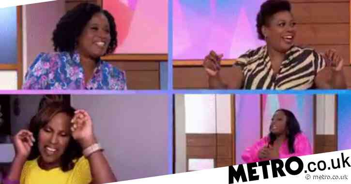 Loose Women applauded as it makes history with all-Black panel