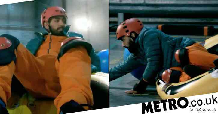 Taskmaster's Mawaan Rizwan disqualifies himself in first look clip of epic challenge fail