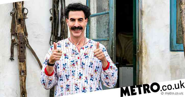Borat is finally punching up – and his controversial comedy is never more welcome