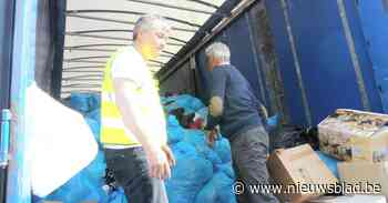 Kiwanis organiseert 'drive-through' voor Blue Bag Day