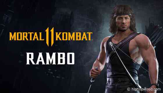 HHW Gaming: Rambo Draws First Blood In His 'Mortal Kombat 11 Ultimate' Reveal Trailer