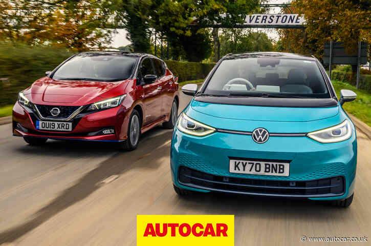 Video: Volkswagen ID 3 vs Nissan Leaf | electric hatchback face-off
