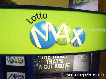 Where is the winner of Lotto Max's $70-million jackpot?