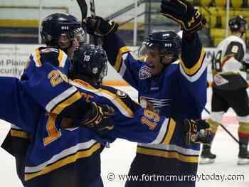 Oil Barons host Bonnyville at Centerfire Place, split weekend games - Fort McMurray Today