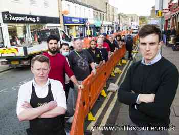 Barriers are 'crippling' town centre says Calderdale shop keeper - Halifax Courier