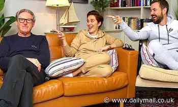 Line of Duty stars Vicky McClure, Martin Compston and Adrian Dunbar film Gogglebox  special