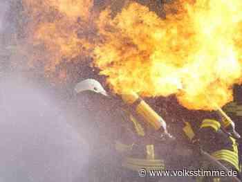 Quedlinburg: Scheune brennt komplett ab - Volksstimme