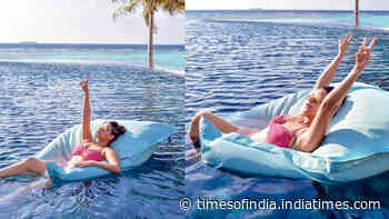 Chill, slay, repeat! Bikini-clad Neha Dhupia shows how to make most of a trip in Maldives