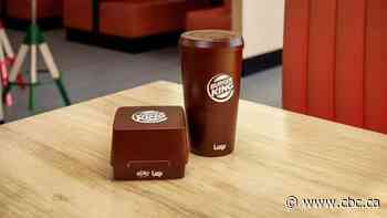 Tim Hortons, Burger King to offer reusable, returnable containers