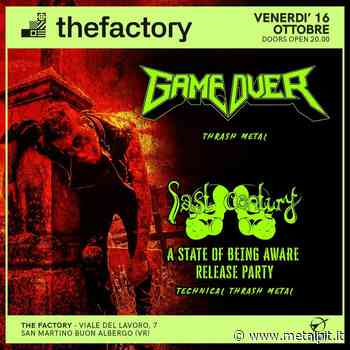 Live Report GAME OVER + LAST CENTURY @ The Factory, San Martino Buon Albergo (VR) - 16/10/2020 - MetalPit.it - MetalPit