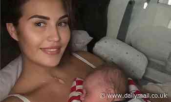 New mum Chloe Goodman says she hasn't showered for two days