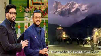 Riteish Deshmukh shares breathtaking video of Kedarnath Temple, close friend Abhishek Bachchan and fans go gaga