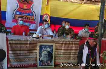 Gobierno visita por primera vez comunidad indígena en límites de Risaralda y Chocó - El Quindiano S.A.S.