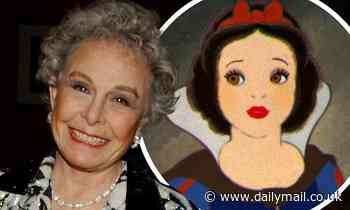 Marge Champion: Dancer and actress who was the model for Disney's Snow White dies at age 101