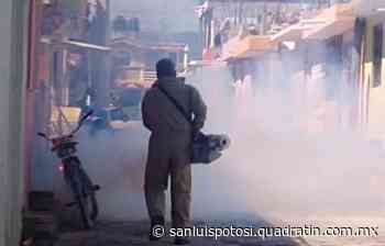 Ponen en marcha programa de fumigación en Matehuala - Noticias de San Luis Potosí - Quadratín San Luis