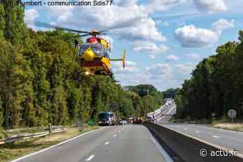 Seine-et-Marne. Gretz-Armainvilliers : deux poids lourds et une camionnette impliqués dans un accident sur la N 4 - actu
