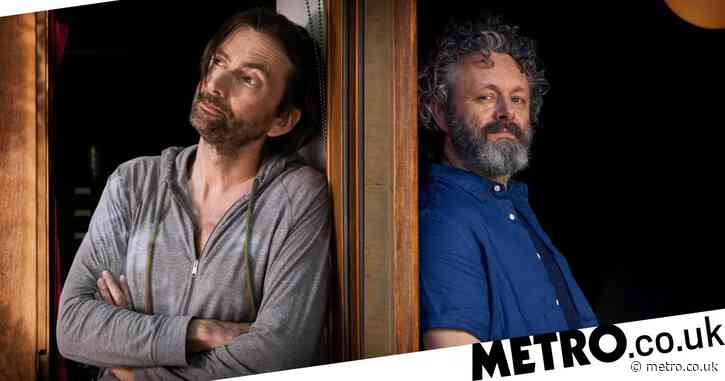 David Tennant and Michael Sheen confirm second series of lockdown comedy Staged