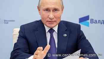 Putin says he authorised Navalny medevac - The Canberra Times