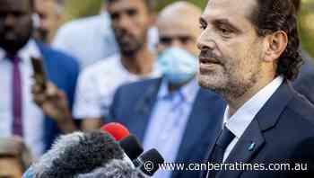 Hariri named Lebanon's new prime minister - The Canberra Times