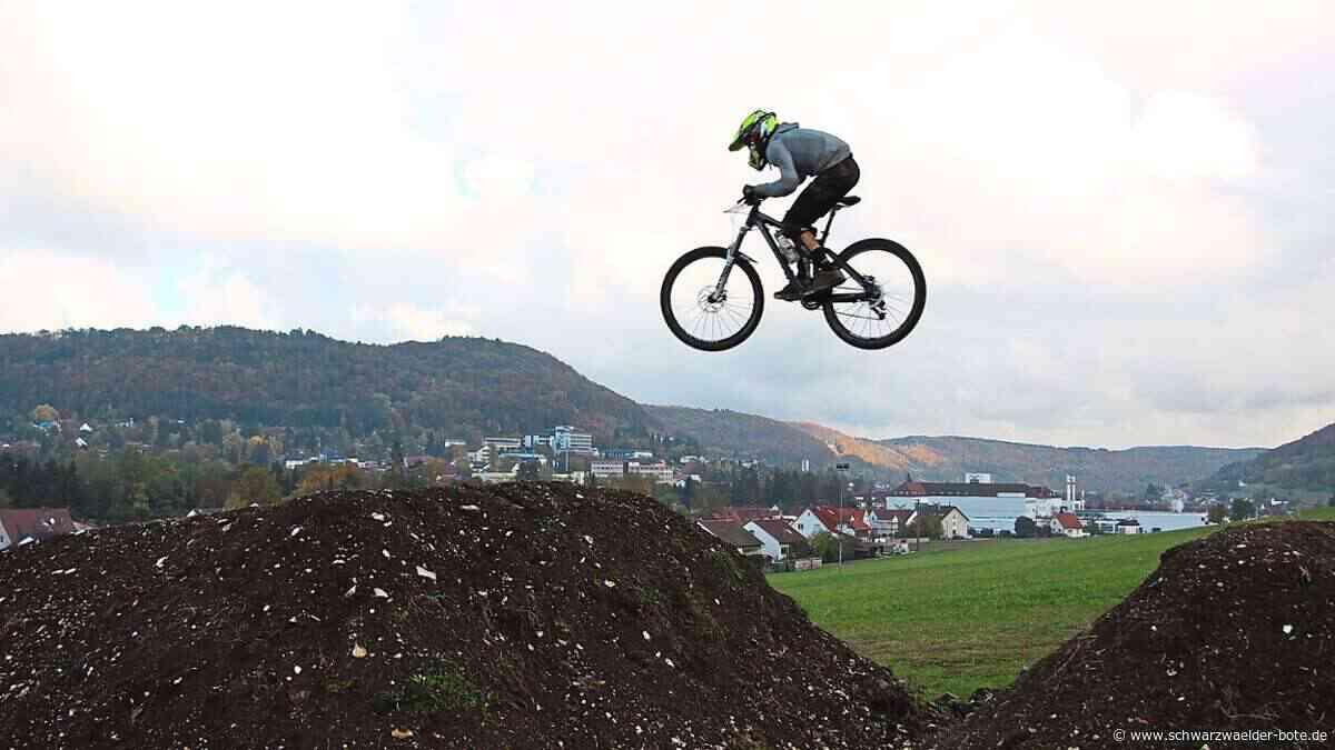 Burladingen - Bikepark offen: Nur Fliegen ist schöner - Schwarzwälder Bote