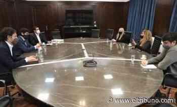 Solís se reunió en Buenos Aires con directivos de Desarrollo Productivo de la Nación - El Tribuno.com.ar