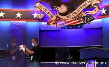 Por seguridad, mantendrán protección de plexiglás en debate entre Trump y Biden | El Universal - El Universal