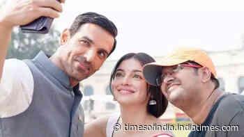 Satyamev Jayate 2: John Abraham and Divya Khosla Kumar kickstart shooting in Lucknow