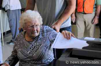 100-year-old voter shares advice ahead of election, names favorite president in her lifetime