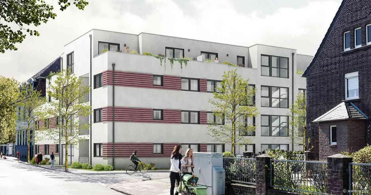 Krefeld: Neubauprojekt Kauffmansgärten mit 29 Eigentumswohnungen - Westdeutsche Zeitung