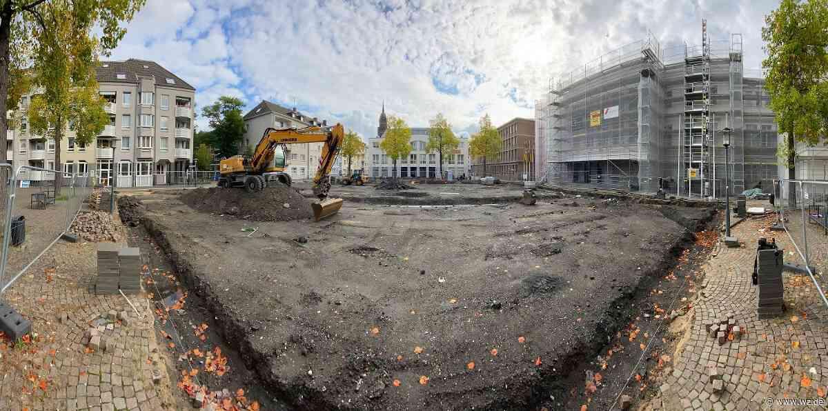 Von-der-Leyen-Platz in Krefeld: Arbeiten sollen im Dezember enden - Westdeutsche Zeitung