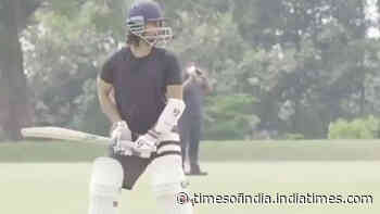 Jersey: Shahid Kapoor shares video of his early morning practice session