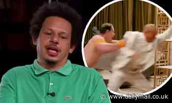 Eric Andre says John Cena accidentally gave him a concussion when a stunt went wrong