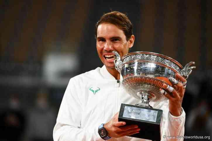 Rafael Nadal earns Royal Order of Sports Merit award after matching Roger Federer