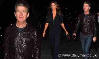 Noel Gallagher joins wife Sara MacDonald on a night out in London to celebrate her 49th birthday
