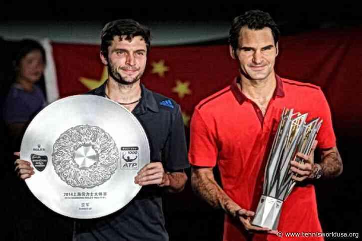 Shanghai Flashback: Roger Federer edges Gilles Simon to lift the trophy