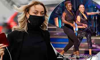 Strictly's Katya Jones wears all-black ensemble as she arrives at rehearsals