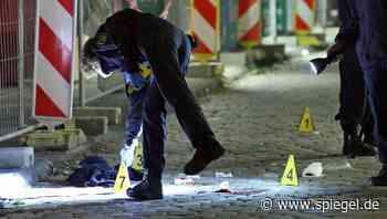 Dresden: Tatverdächtiger nach tödlichem Angriff festgenommen - DER SPIEGEL