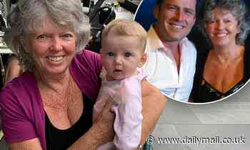 Karl Stefanovic captures the sweet moment his mother Jenny finally meets his daughter Harper