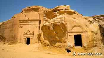 Saudi Arabia's mysterious 'Petra'