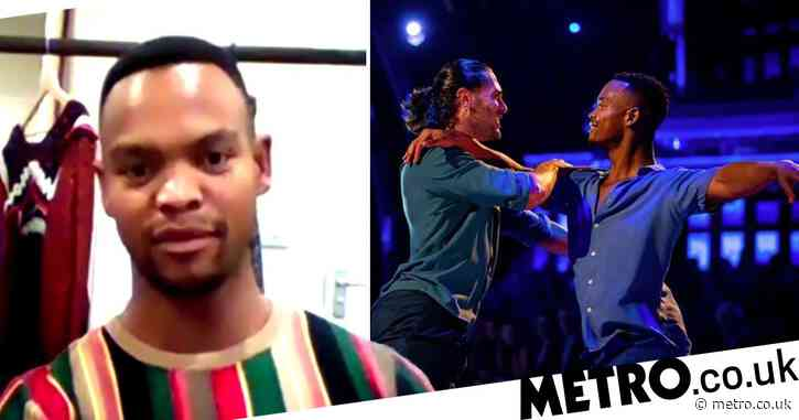 Strictly Come Dancing's Johannes Radebe 'proud his groundbreaking same-sex routine started conversations'