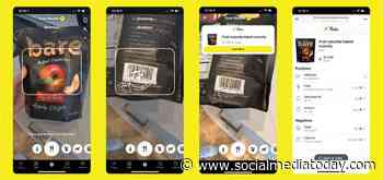 Snapchat Adds New Barcode Scanning Capacity for Selected Products, Providing Further Insight